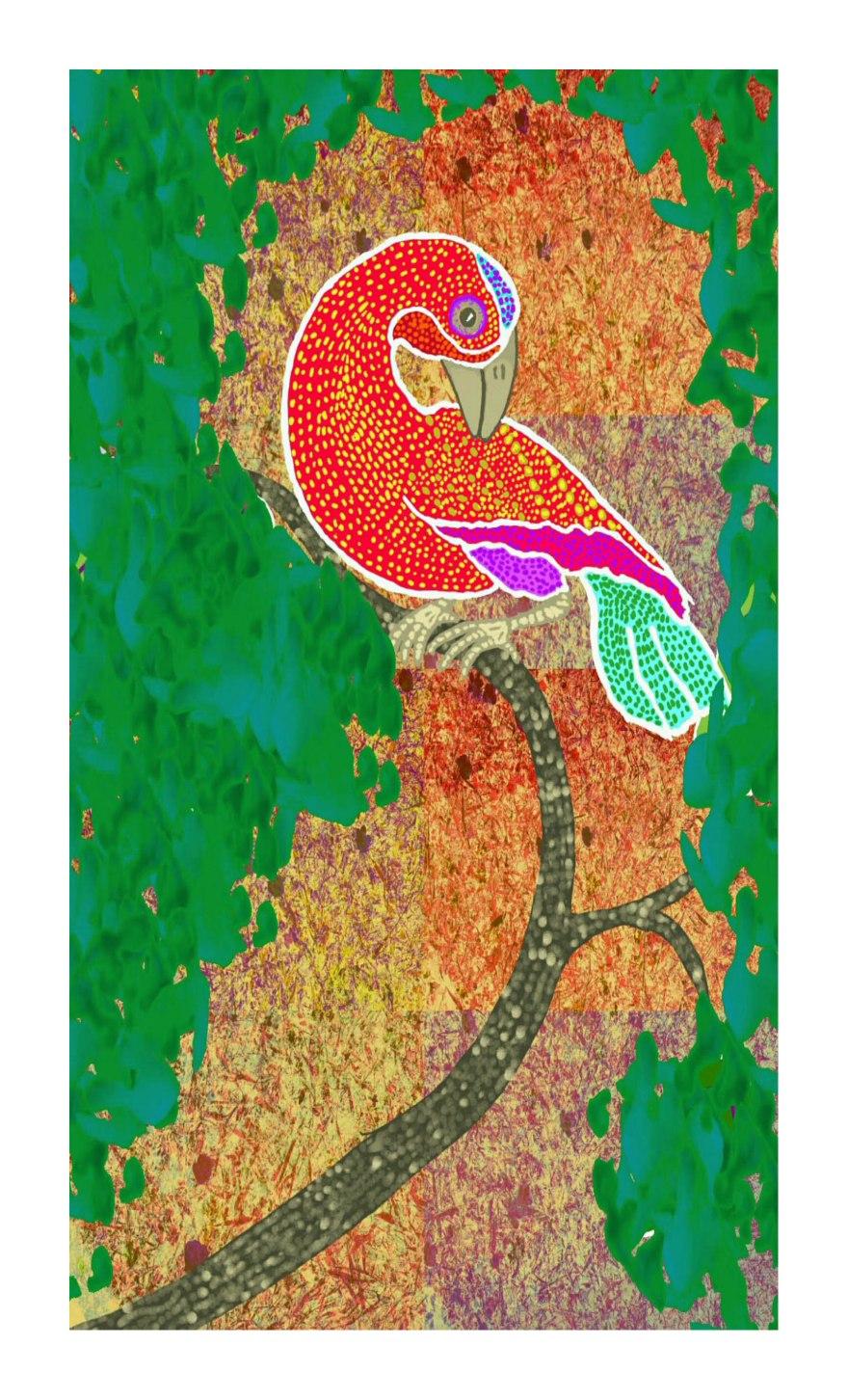 Tingatinga bird